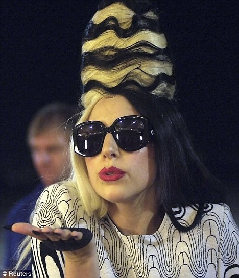 Lady Gaga gets Taiwan in a buzz with her latest wacky hairstyle  2