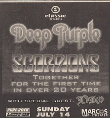 07/14/02 Deep Purple/Scorpions/Dio @ Marcus Amphitheater, Milwaukee, WI