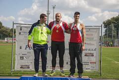 Giovanni Faloci e Alessandro Cavalieri su podio del peso