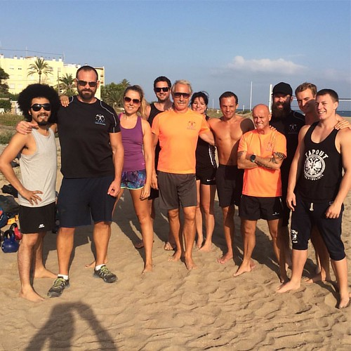 #epti #becomeapt #ptcertification #personaltrainertraining #beachtraining #kettlebell