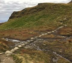 Thoughtfully provided stepping stones (barronr) Tags: scotland lochlomondthetrossachsnationalpark benlomond theptarmigan