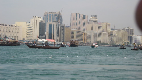 Dubai Creek and Abras