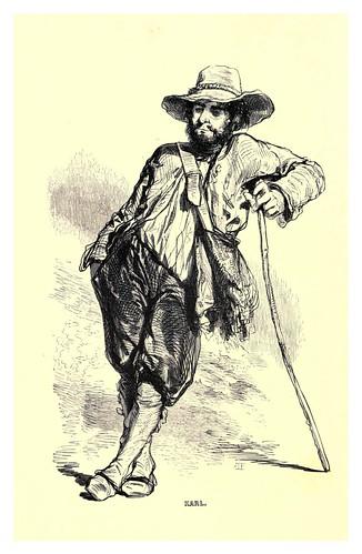 002-Karl-Le juif errant 1845- Eugene Sue-ilustraciones de Paul Gavarni