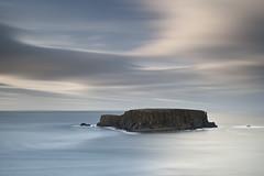 Slow Sheep Island (Reed Ingram Weir) Tags: longexposure travel cliff zeiss canon 50mm coast calm lee northernireland ballycastle ballintoy sheepisland reedingramweir riwp