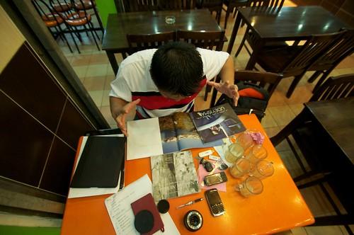 busy editor