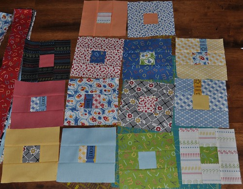 punctuation quilt blocks