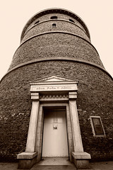 Olde Tymes at Volunteer Park (JTContinental) Tags: seattle urban sepia architecture frombelow symmetry observatory volunteerpark capitolhill toweer jtcontinental
