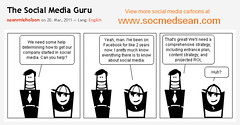 The Social Media Guru Cartoon Comic