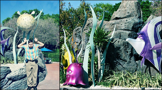 Epcot Finding Nemo diptych
