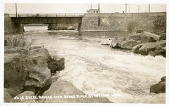 [IDAHO-B-0020] Snake River - St. Anthony (waterarchives) Tags: bridge river idaho snakeriver stanthony realphotopostcardrppc