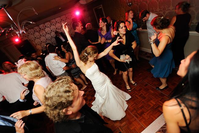 Jen on the dancefloor