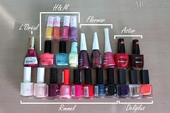 My nail polish ♥
