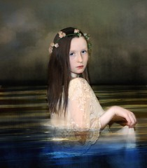 ('_ellen_') Tags: flowers sea sky wet water dark hair dress mydaughter idream ellenmcdermott