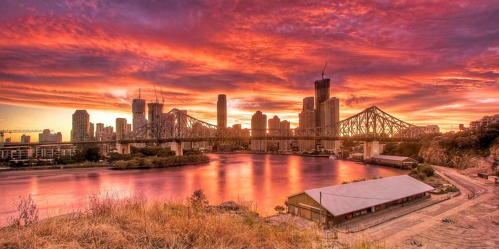 12/52 - Story Bridge Sunset
