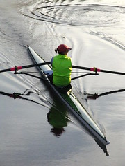 Row (historygradguy (jobhunting)) Tags: people reflection water boston river ma person boat sitting candid seat massachusetts charlesriver newengland down frombehind sit rowing mass seated rower oars sittin bostonist universalhub