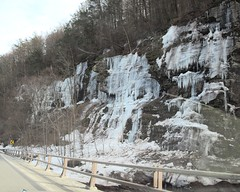 Icicles on State Route 23A, Kaaterskill Creek, Catskill Mountains, Palenville, New York (jag9889) Tags: ny newyork mountains creek state falls icy catskills palenville nys icycle kaaterskill greenecounty kaaterskillcreek route23a