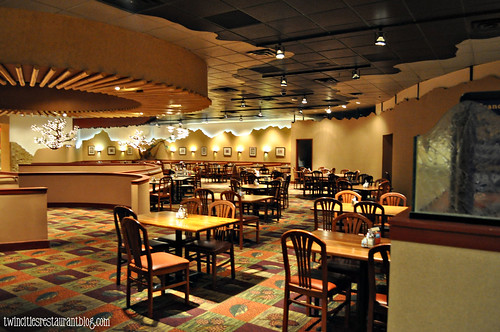 Upper Dining Room at Grand Casino Buffet ~ Hinckley, MN