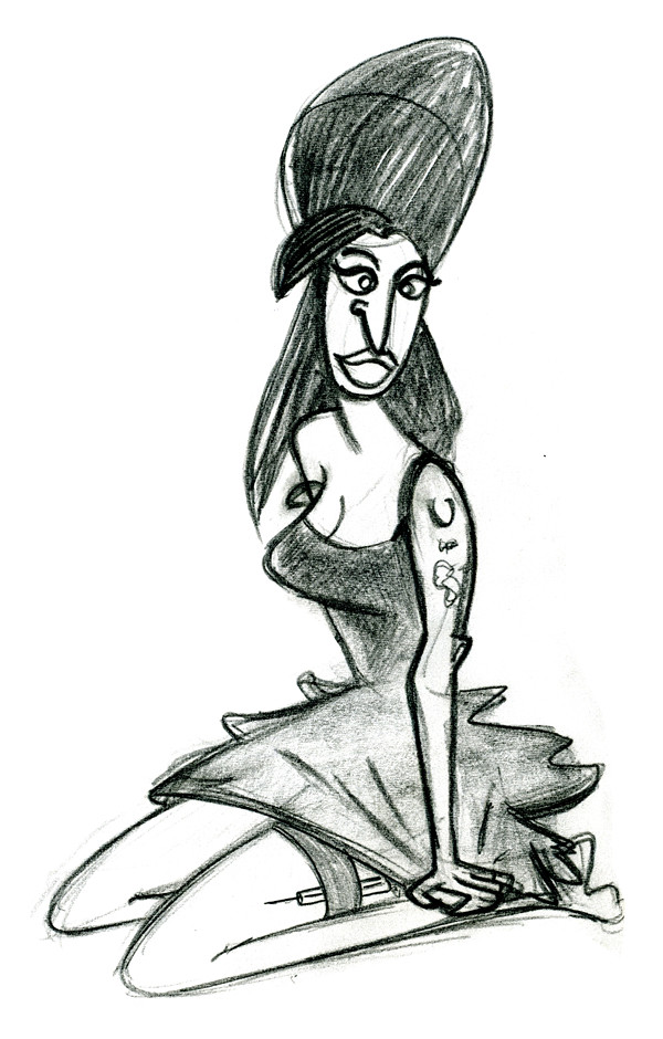 Amy_Winehouse_Caricature_Sketch_01