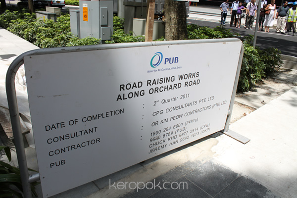 Orchard Road - Road Raising