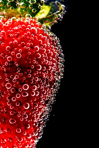Strawberry Bubbly by Alan Stenson