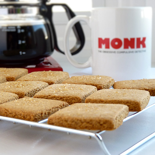 Coffee Break Shortbread - My Sweet Vegan