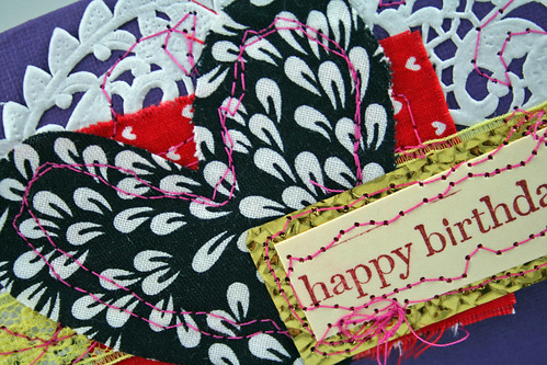 Birthday Stitching