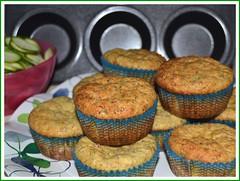 Savory Zucchini Muffins (milky.way) Tags: food tomato muffins wheat eggs tabasco spicy zucchini flour pomodori cibo farina zucchine uova