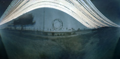 ['] (Kowska) Tags: sun sol solar photo spain long exposure foto can pinhole alicante terra canister benidorm estenopeica mitica solarigrafia solargraphy kowska kowskacom kowskablogspotcom