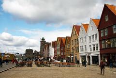 Bryggen Wood Houses (Nataraj Metz) Tags: norway norwegen unesco bergen nor bryggen hordaland worldheritage weltkulturerbe woodhouses holzhuser tyskebryggen