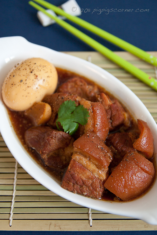 Vietnamese Braised Pork and Eggs in Coconut