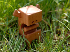 AARGHBLOCK-Wood-Toy-by-Pepe_01 (pepehiller) Tags: wood urban art toys handmade pepe designertoys beewax pearwood