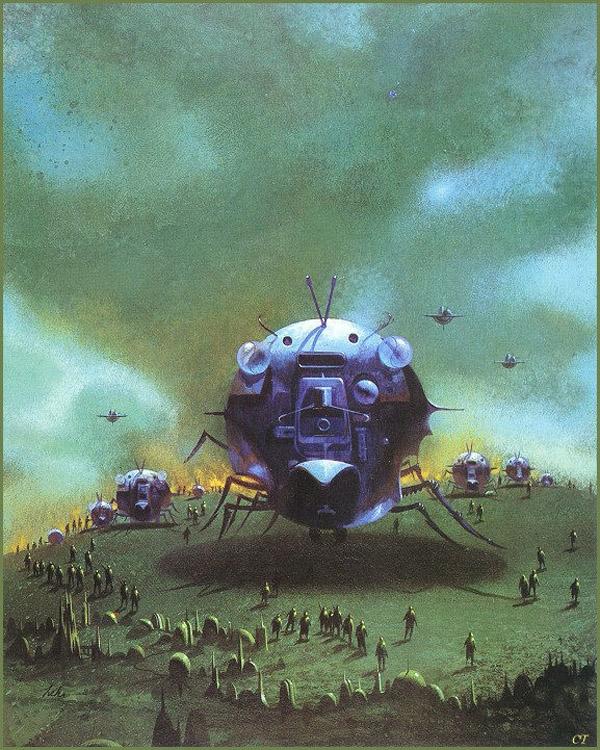 Japanese Sci Fi Art Iso50 Blog: MONSTER BRAINS: Paul Lehr