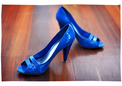 Brights: Blue Shoes Nine West