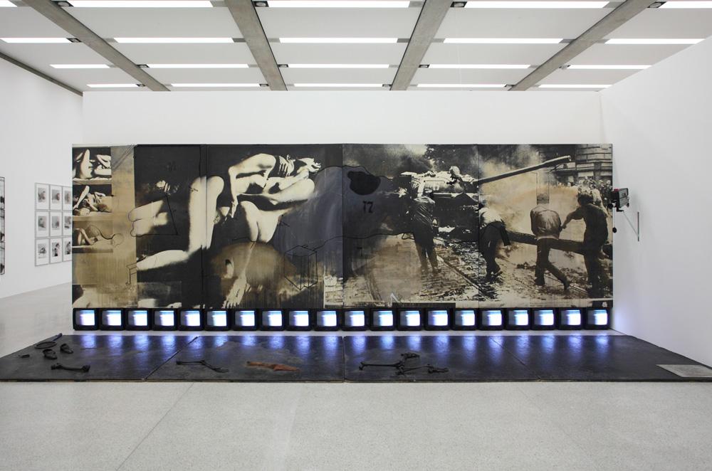 Wolf Vostell, Heuschrecken [Grasshoppers], 1969-1970 1