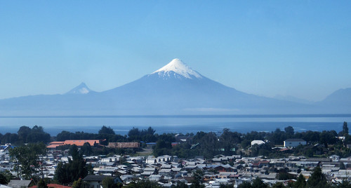 Front and Center - Volcán Osorno, outside Puerto Varas, Chile by katiemetz, on Flickr