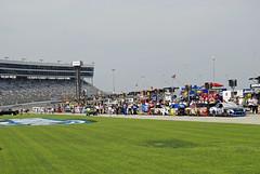 All lined up (Robert.Rich) Tags: nascar mattkenseth texasmotorspeedway sprintcup samsungmobile500