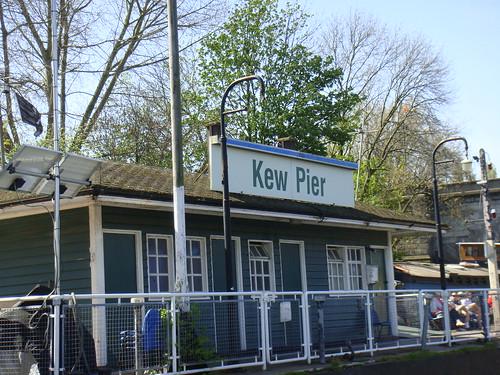 Llegada a Kew Gardens