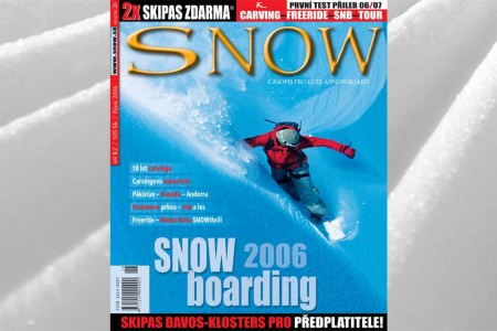 SNOW 26 - 2x SKIPAS ZDARMA