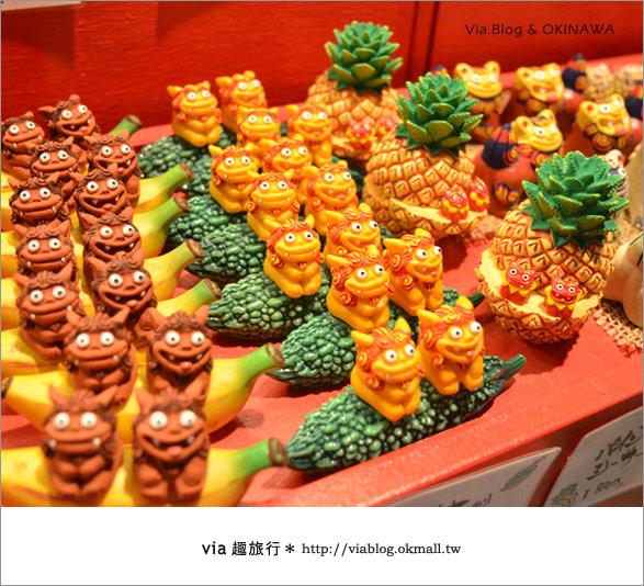 【沖繩必買】跟via到沖繩國際通+牧志公設市場血拼、吃美食!4