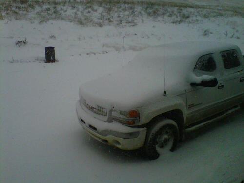 April 14 Snowfall