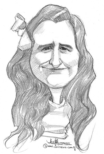 caricature in pencil - 20