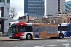 UTA Bus 10011 on Route 209 in downtown (Dornoff Photography) Tags: bus utah nikon downtown saltlakecity transportation gillig uta brt advantage d60 nikond60 utahtransitauthority
