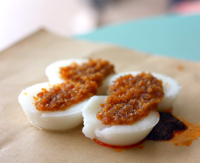 Eunos Crescent Food Centre: Chwee Kueh