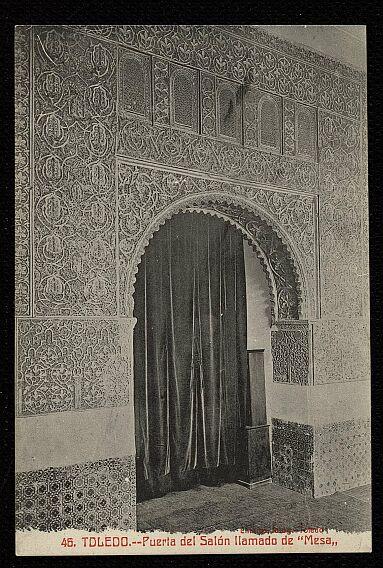 Casa de Mesa a comienzos del siglo XX. Foto Abelardo Linares