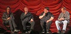 Q&A after the Fix: The Ministry Movie Premier (swimfinfan) Tags: chicago fix ministry musicboxtheater jimderogatis soundopinions paulbarker gregkot cimmfest dougfreel