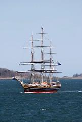 Stad Amsterdam (jelpics) Tags: ocean sea netherlands boston sailboat harbor boat ship vessel mast bostonma rigging clipper bostonharbor stadamsterdam
