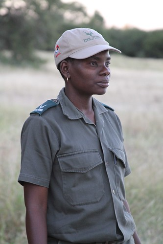 "Our intrepid guide, she that sayeth ""Impala!"""
