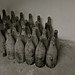 Looted bottles of wine (empty)