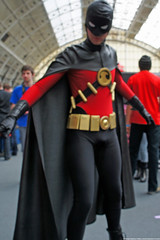 Kapow! Comic Con : Cosplay - Batman Reborn Red Robin by Craig Grobler
