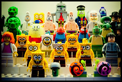 LEGO Spongebob Squarepants Collection (terencehonin) Tags: lego spongebob squarepants